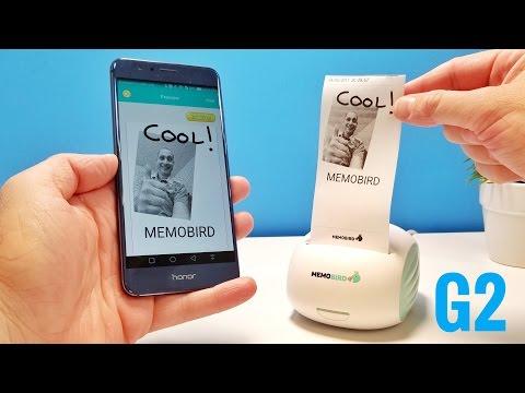 MEMOBIRD G2 Pocket Wireless Printer REVIEW - Super Cool!