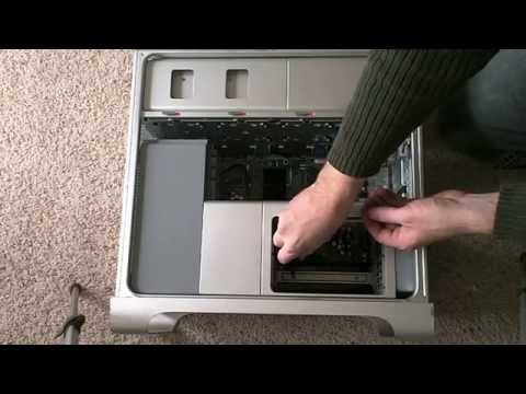 Apple Mac Pro CPU Upgrade How To... 1 of 2