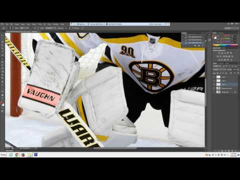 Changing Goalie Equipment Colors