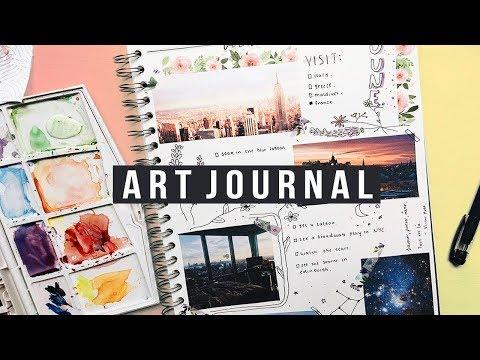 ART JOURNAL    BUCKETLIST