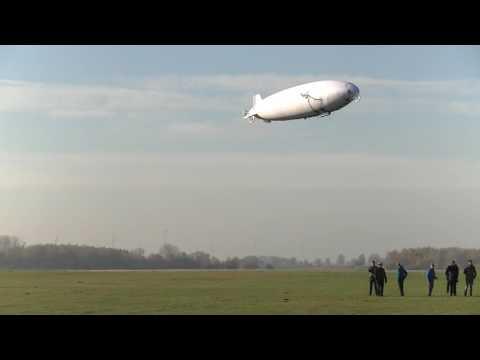 Outdoor Airship maiden flight Teaser