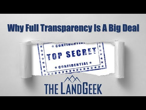 Why Full Transparency Is A Big Deal