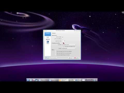 Force Row on Taskbar - Task Manager - Kubuntu 9.10
