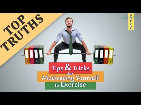 EXERCISE MOTIVATION: Tips & Tricks For Motivating Yourself To Exercise (Part 1)