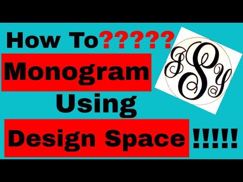How To | Monogram | Cricut Explore Air 2