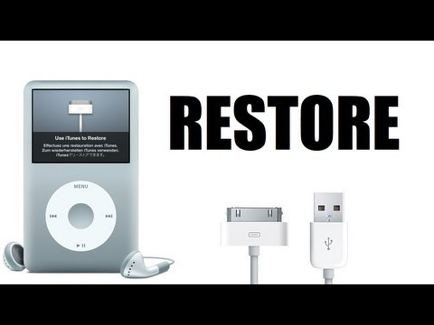 How to Restore a Broken iPod