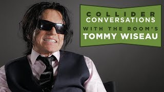 Tommy Wiseau Plays Football With The Collider Crew And Chats The Disaster Artist