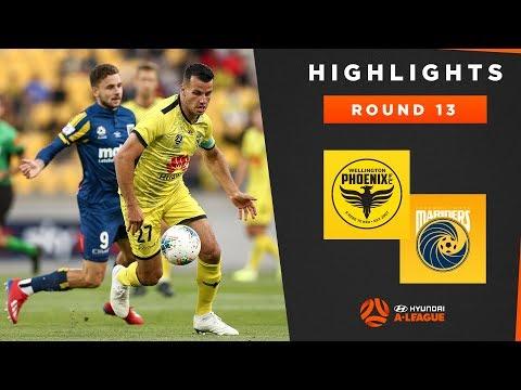 Highlights: Wellington Phoenix v Central Coast Mariners – Round 13 Hyundai A-League 2019/20 Season