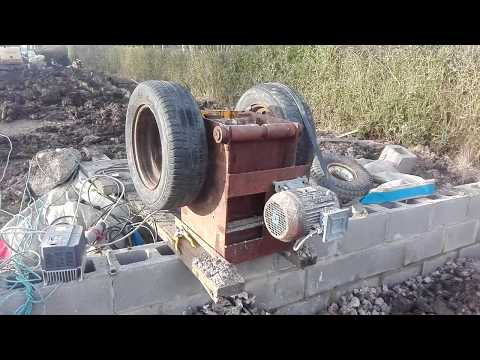 how homemade jaw crusher works.