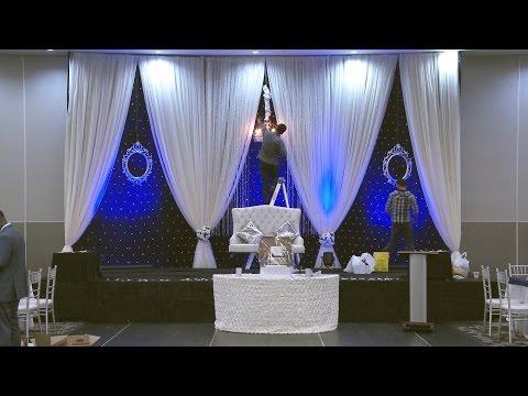 How To Make Wedding Reception Backdrop | Toronto 10 Common Chinese Wedding Backdrops in Description