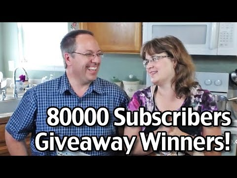 80,000 Subscribers Giveaway Winners!