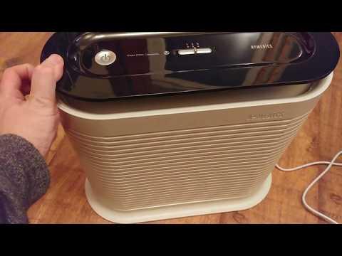 Homedics Air Purifier - First Look