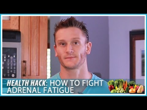 How to Fight Adrenal Fatigue: Health Hack- Thomas DeLauer