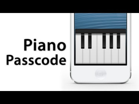 [Cydia Tweak] Piano Passcode - Use Piano Keys To Unlock Your Device