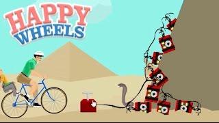 PIRAMIDE SEGRETA SCOPERTA, PROVO AD ENTRARE. - Happy Wheels [Ep.117]