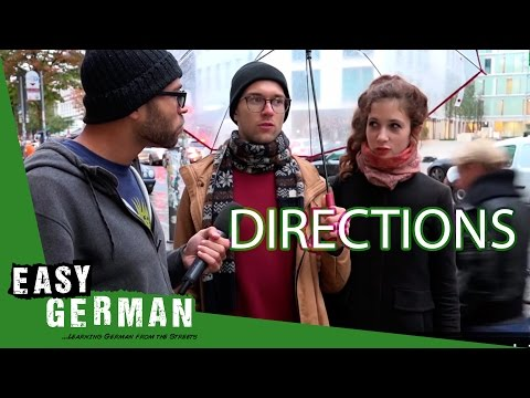 Asking for directions in German | Easy German 164