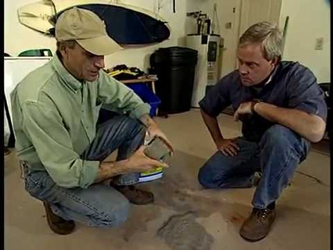How to Remove an Oil Spill in Your Garage