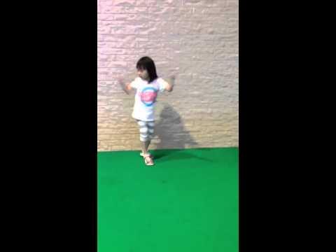 Ticia dancing