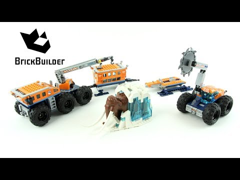 Lego City 60195 Arctic Mobile Exploration Base - Lego Speed Build