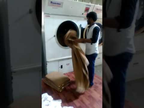 Blanket washing in laundry