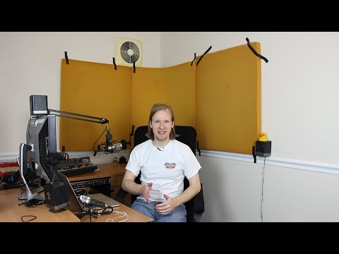 Cheap Sound Treatment Tests in a Commercial Office - The Audacity to Podcast