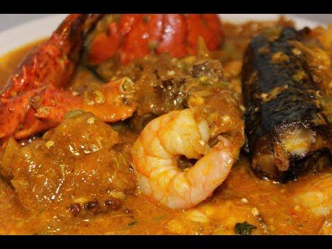 Okro-Ogbono   Ogbono Okra   Nigerian Food