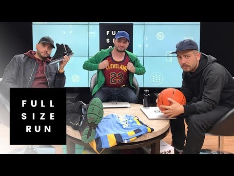 Ripping Into Nike's NBA Jerseys | Full Size Run