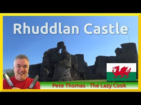 A Tour of Rhuddlan Castle in Beautiful North Wales