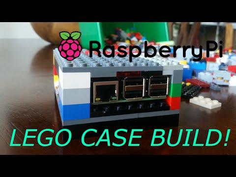 Raspberry pi 3 -  DIY LEGO CASE BUILD!