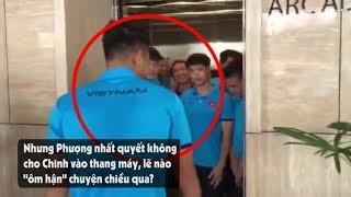 Công Phượng trả thù Đức Chinh, quyết không cho vào thang máy cùng