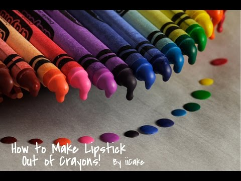 How To Make Lipstick Out of Crayons