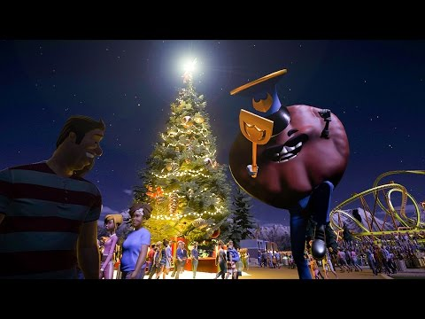 Custom Chrismas Tree :: Planet Coaster