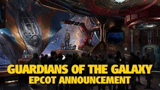 Guardians of Galaxy Epcot Announcements & More Future World Plans | D23 Expo 2017