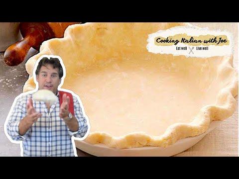 Worlds Best Pie Crust Recipe Cooking Italian with Joe