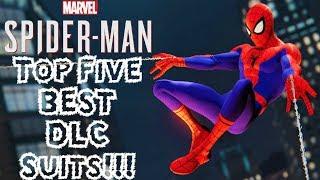 Download Top 5 BEST DLC Suits in Spider-Man PS4!!! Video