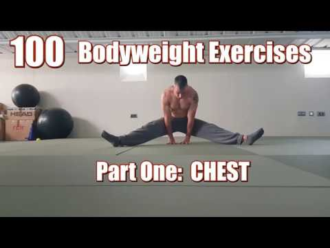 100 BODYWEIGHT EXERCISES (NO GYM REQUIRED) | CHEST