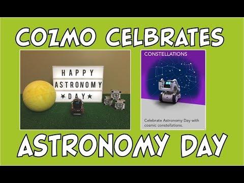 Cozmo the Robot | Cozmo Celebrates Astronomy Day | Episode #86