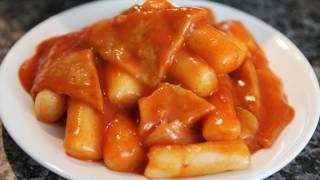 Download Tteokbokki (Korean spicy rice cake) Video