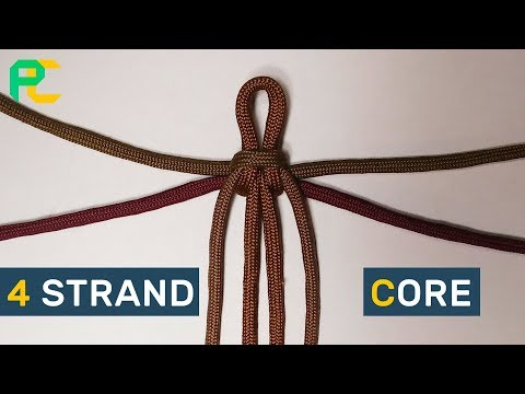 4 strand core for paracord bracelet WITHOUT BUCKLE