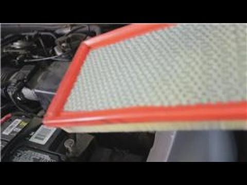 Automotive Maintenance : How to Clean an Auto Air Filter