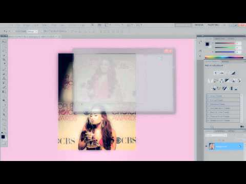 Photoshop Tutorial } How to make a twitter icon (PHOTOFILTRE LINK IN DESCRIPTION!)