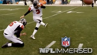 360° Falcons vs. Panthers with Matt Bryant (360 Video)   Ep. 7   NFL Immersed