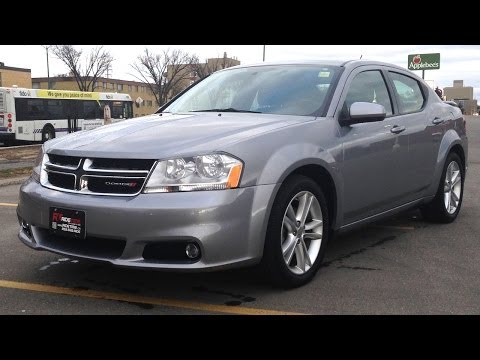 Where is the best place to buy a used car? Winnipeg, MB - 2013 Dodge Avenger SXT