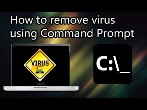 How to Remove Virus using Command prompt {No Software}