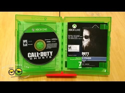 Call of Duty Ghost Xbox One Unboxing + Giveaway