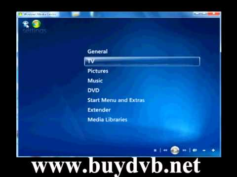 How to watch DVB-T2 Freeview HD TV on Windows7 Media Center via TBS6280