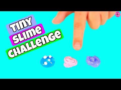 Tiny Slime Challenge * Making Mini Slimes!