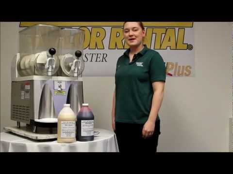 Frozen Drink Machine Tutorial