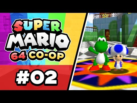 Super Mario 64 Online - EP02 | BABY PENGUIN PROBLEMS!