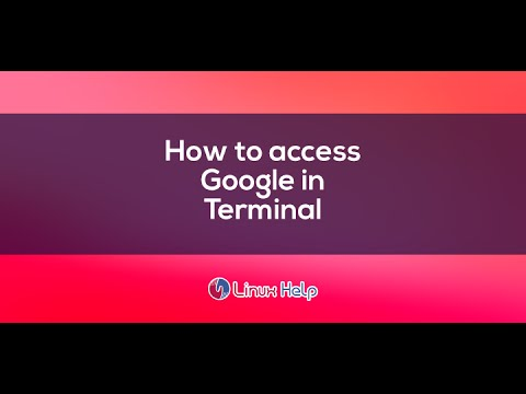 how to access google in terminal any Linux #google-tips-2016
